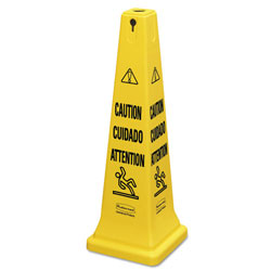 "Rubbermaid Yellow Safetycone Caution 36"" Mult"