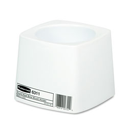 Rubbermaid Holder for Toilet Bowl Brush, White Plastic
