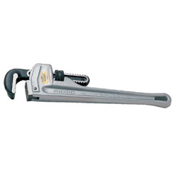 Ridgid RIDGID Aluminum Straight Pipe Wrench, 10 in Long, 1 1/2 in Jaw Capacity