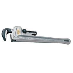 Ridgid RIDGID Aluminum Straight Pipe Wrench, 14 in Long, 2 in Jaw Capacity