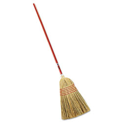 Rubbermaid Red Standard Corn Broom
