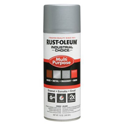 Rust-Oleum 830 Dull Aluminum Ind. Choice Paint 12oz. Fil.Wt