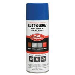 Rust-Oleum 830 True Blue Ind. Choice Paint 12oz. Fill Wt.