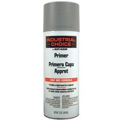 Rust-Oleum Industrial Choice 1600 System Enamel Primer Paint, 12 oz, Gray