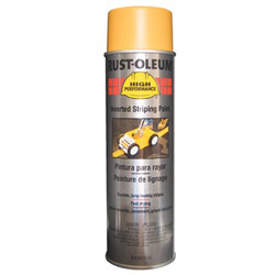 Rust-Oleum High Performance 2300 System Inverted Striping Paint, 20 oz, Yellow