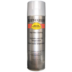 Rust-Oleum High Performance V2100 System High Heat Coating Paint, 15 oz, High Temperature Aluminum