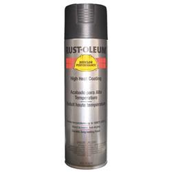 Rust-Oleum High Performance V2100 System High Heat Coating Paint, 15 oz, High Temperature Black