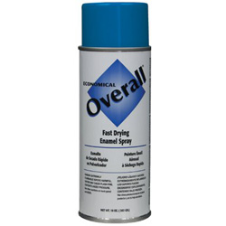Rust-Oleum Overall Economical Fast Drying Enamel Paint, 10 oz, Gloss Blue
