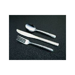 Libbey 657-016 Brandware 18/0 Medium Weight Dominion Bouillon Spoon