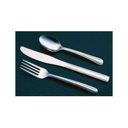 Libbey 657-030 Brandware 18/0 Medium Weight Dominion Dinner Fork
