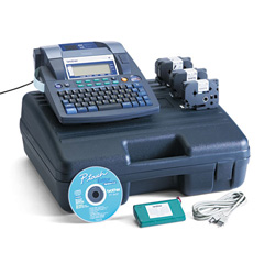 Brother P-Touch 9600 - Labelmaker - B/W - Direct Thermal - Roll (1.42 In) - 360 DPI x 360 DPI - Up To 47.2 Inch/min