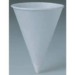 Solo Paper Cone Water Cups, 6 oz , White