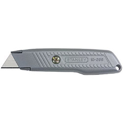 Stanley Bostitch Interlock 299 Fixed-Blade Utility Knife, 5 3/8 in