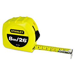 "Stanley Bostitch Tape Rule, 1"" x 26ft"