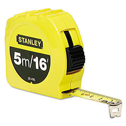 "Stanley Bostitch 3/4"" x 16'/5m Tape Measure"