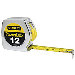 Stanley Bostitch Taperule Pl312 Yellow 3/