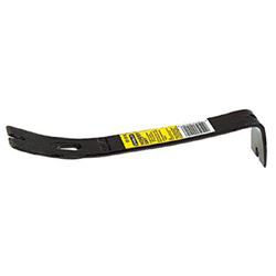 Stanley Bostitch Pry Bar, High Carbon Steel, 12.37 in Length