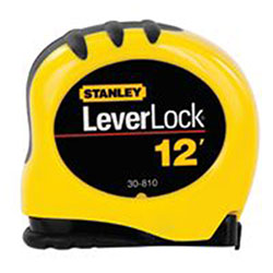 Stanley Bostitch LeverLock® Tape Rules, 1 in x 25 ft