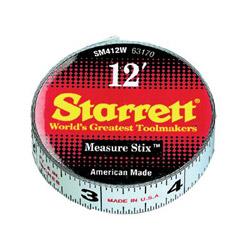 """L.S. Starrett Sm412w 1/2"""" x 12' Measure"""