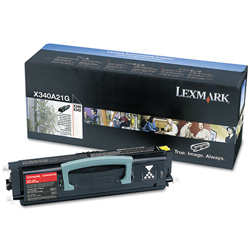 Lexmark Toner Cartridge - 1 x Black - 2500 Pages