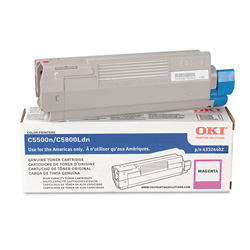 Okidata Type C8 Toner Cartridge - 1 x Magenta - 5000 Pages