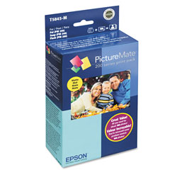 Epson Print Pack T5845-M - Print Cartridge / Paper Kit - 1 x Color (cyan, Magenta, Yellow, Black) - 100 Pages