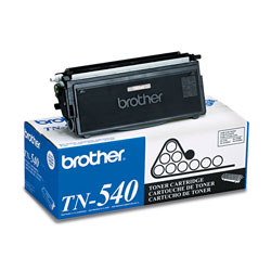 Brother TN540 Toner Cartridge - 1 x Black - 3500 Pages