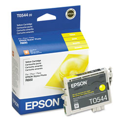 Epson UltraChrome T0544 - Print Cartridge - 1 x Yellow - 400 Pages