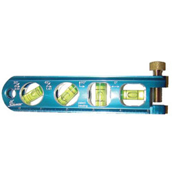 "Swanson Tools 6.5"" Lil Savage Solid Billet Torpedo Level"