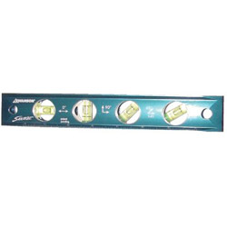 "Swanson Tools 9"" Savage Solid Billet Torpedo Level"