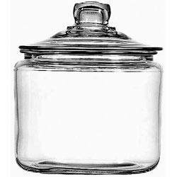 Anchor Hocking 3 Quarts Heritage Hill Jar with Cover