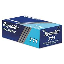 Reynolds Pop-Up Interfolded Aluminum Foil Sheets, 9 x 10 3/4, Silver, 3000 Sheet/Carton