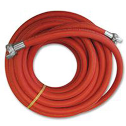 Continental ContiTech Jackhammer Air Hose Assemblies, 0.38 lb @ 1 ft, 1 1/4 in O.D., 3/4 in I.D., Red