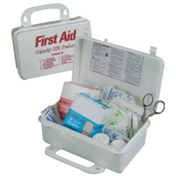 North Safety Products Handy Deluxe First Aid Kits, Plastic