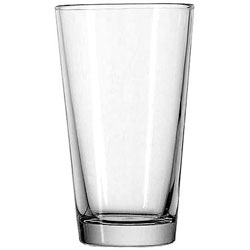 "Anchor Hocking Mixing Glass, 16oz, Clear, 5 7/8"" H, 3 1/4"" D"