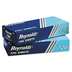 Reynolds Pop-Up Interfolded Aluminum Foil Sheets, 12 x 10 3/4, Silver, 200/Box