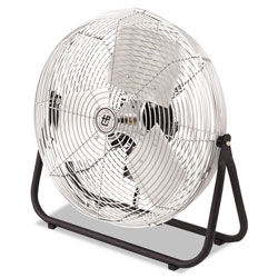 "TPI Corporation Industrial Floor Fan, 18"", 1/8hp, 3-Speed, 1-Phase"