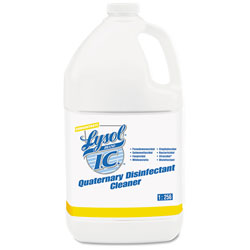 Lysol Quaternary Disinfectant Cleaner, 1gal Bottle, 4/Carton