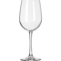 Libbey 16-Oz Tall Wine Glass, Case of 12