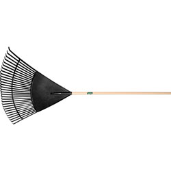 "Union Tools Plrt30 30"" Poly Leaf Rake w/48"" Handl"