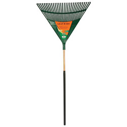 "Union Tools Plrt30cg 30"" Poly Leaf Rake w/Cushion Grip"
