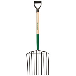 "Union Tools We10 Ensilage Fork 10 Tine 30"" Long Big-fist Ha"