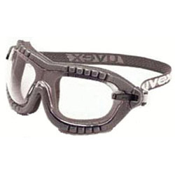 Uvex Safety Fury Spectacle/goggle Black Frame
