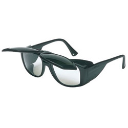 Uvex Safety Horizon Black Frame Safety Glasses Shade 5 Flip