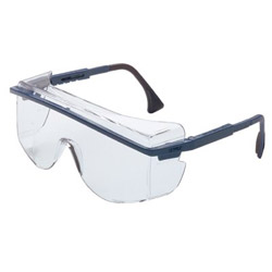 Uvex Safety Astro Otg 3001 Safety Spectacle Blue Frame