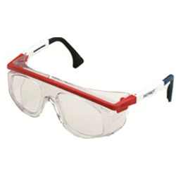 Uvex Safety Astro Rx 3003 Safety Spectacle Black Frame