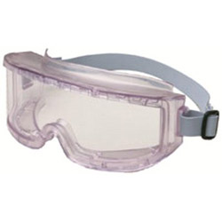 Uvex Safety Futura Goggles, Clear Frame, Clear Lens, Impact/Dust-Resistant