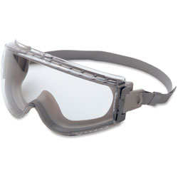 Uvex Safety Stealth Goggle Fabric Headband Gray/gray F