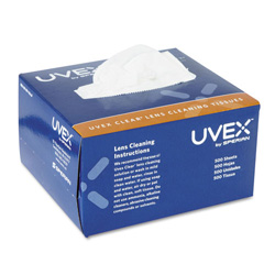 Uvex Safety Clear Lens Cleaningpocket Size Towelettes
