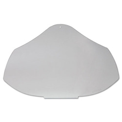 Uvex Safety Bionic Face Shield Replacement Visor, Clear